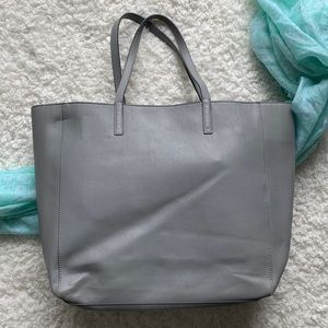 GAP grey tote bag